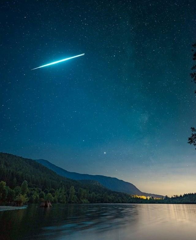 """Uspio sam slikati eksplodirajući meteor!"""