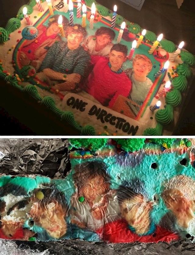 """17. """"Moja mama zaboravila je na rođendansku tortu u frižideru...mjesecima.."""""""