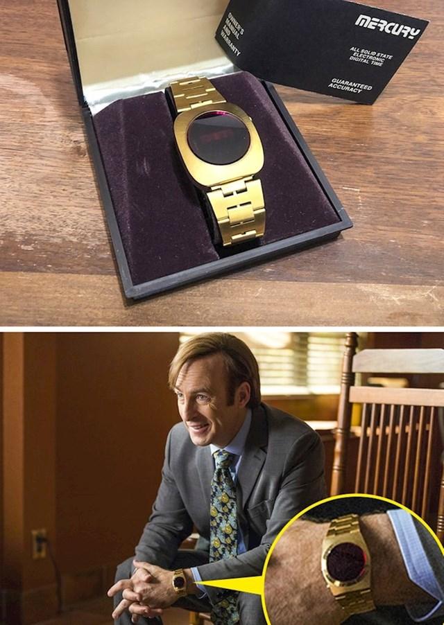 5. Naslijedio sam sat iz serija Breaking Bad i Better Call Saul