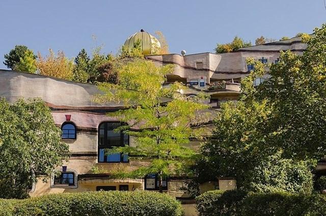 11. Drveće raste i sa krovova.