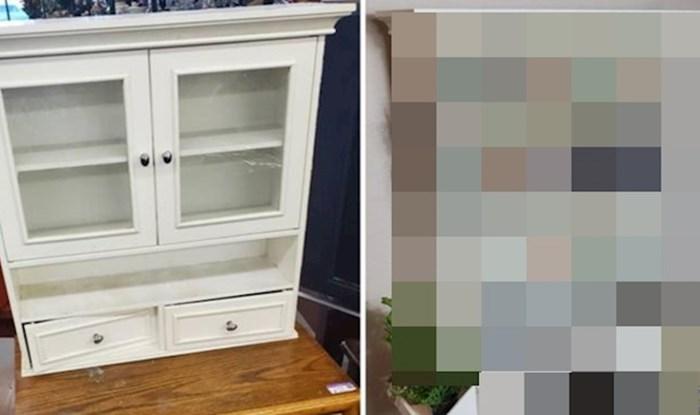 Kreativna mama od stare vitrine napravila je genijalan božićni poklon za kćerku