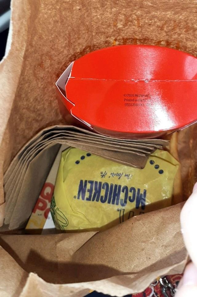 20. Kako su mi poslužili pomfrit u McDonaldsu...