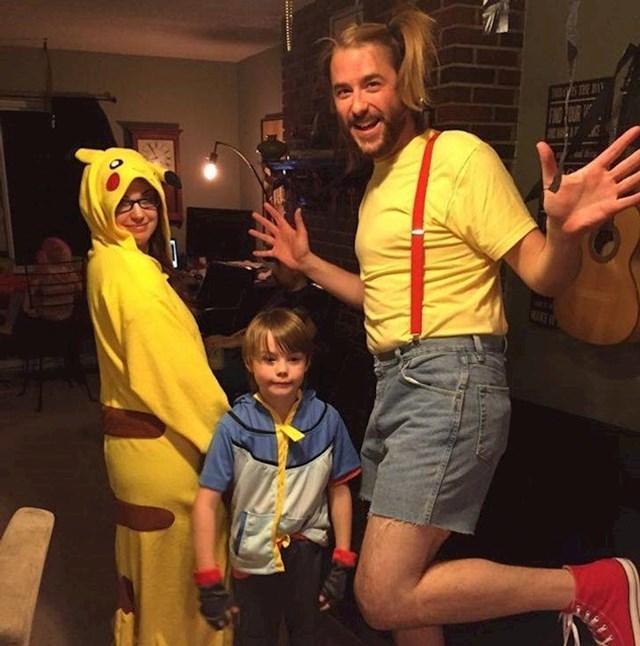"""14. """"Moj sin bio je jako uzbuđen što ćemo imati Pokemon kostime za Noć vještica. Sve dok nije vidjeo moj kostim..."""""""
