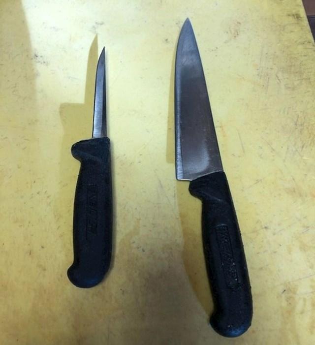 Ovo su bili isti noževi.