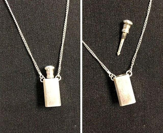 12. Naslijedila sam ogrlicu od mame i otkrila da čuva tajnu - ovu fora strelicu!