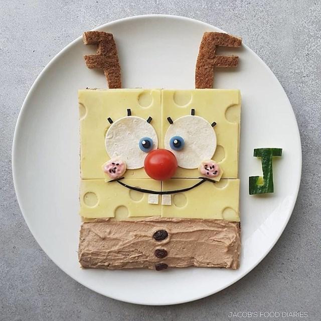 #25 Spužva Bob kao Rudolf