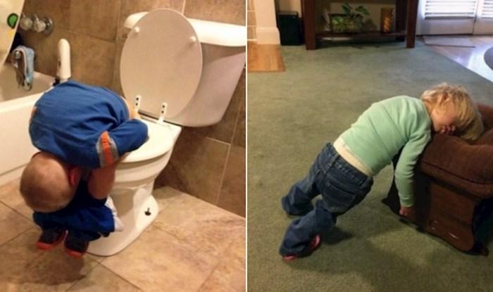17 fotki koje dokazuju da klinci mogu zaspati bilo kad i bilo gdje