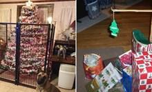 22 ljudi koji su smislili čudne metode za zaštitu božićnog drvca od kućnih ljubimaca