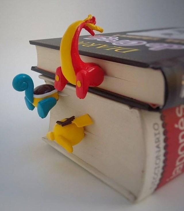 9. Označivač za knjige u obliku Pokemona.