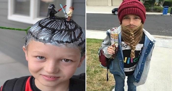 Ovoj djeci roditelji su napravili potpuno sulude frizure