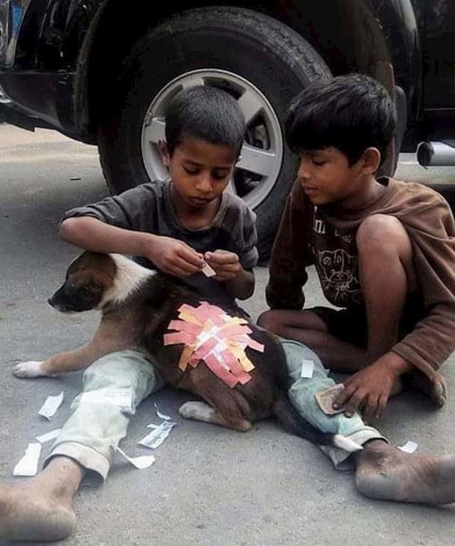 Nije bitno koliko novca imate, već što nosite u srcu. :)