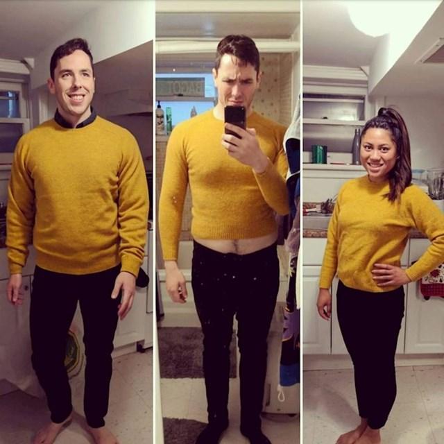 1. Životni put jednog (nekoć) muškog džempera