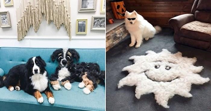 Vlasnici pasa pokrenuli su čudan trend da pokažu koliko se njihovi ljubimci linjaju