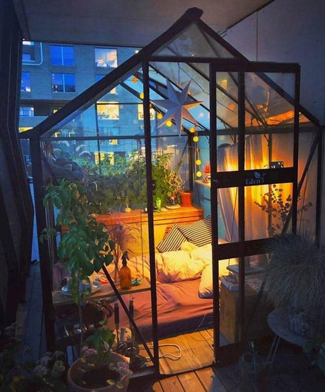 14. Unajmila sam smještaj u Norveškoj, ali nisam znala da ću spavati u predivnom stakleniku na 16. katu!