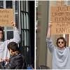 """""""Tip sa znakom"""" duhovitim porukama protestira protiv iritantne svakodnevice"""