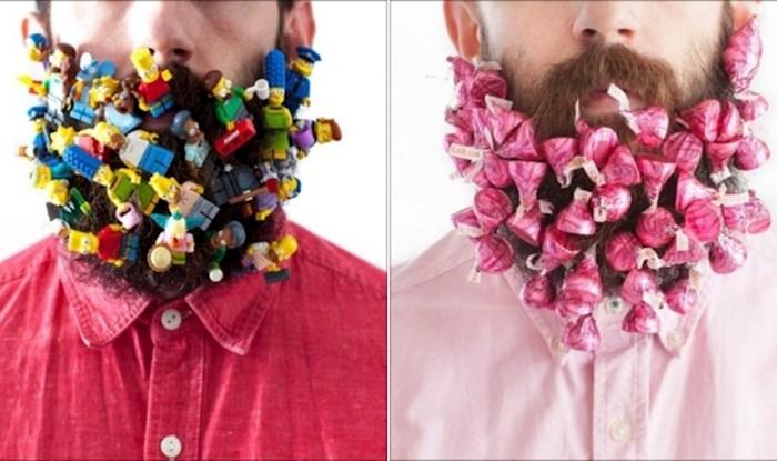 Ovaj čudak zabada razne predmete u svoju bradu, sve objavljuje na Instagramu