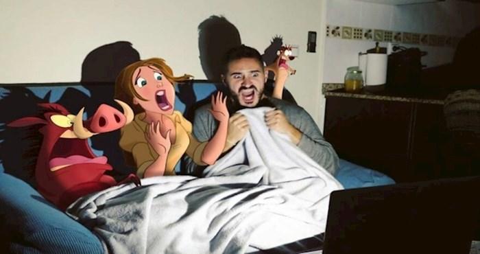 Kreativni lik se Photoshopom ubacuje u avanture Disneyjevih likova, rezultati su genijalni