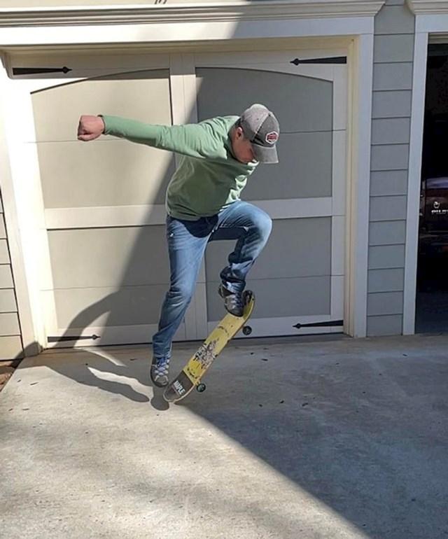 """4. """"Naučio sam voziti skate sa 40 godina!"""""""