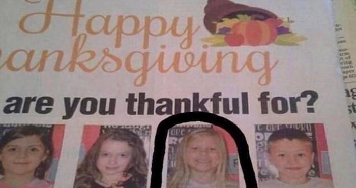Američke novine pitale su djecu na čemu su zahvalna, odgovor ove klinke je genijalan