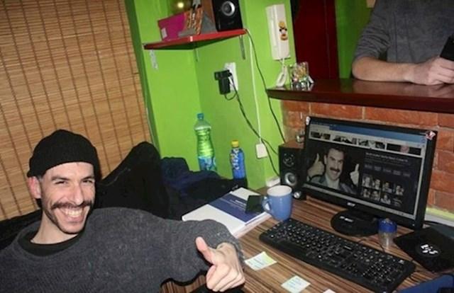 5. Borat ima izgubljenog brata.