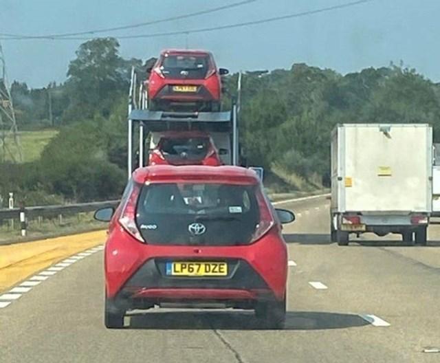 9. Malo previše Toyota...
