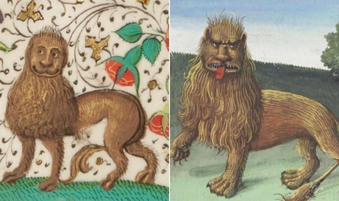 Umjetnici su srednjem vijeku tragično loše slikali lavove, pogledajte ove urnebesne primjere