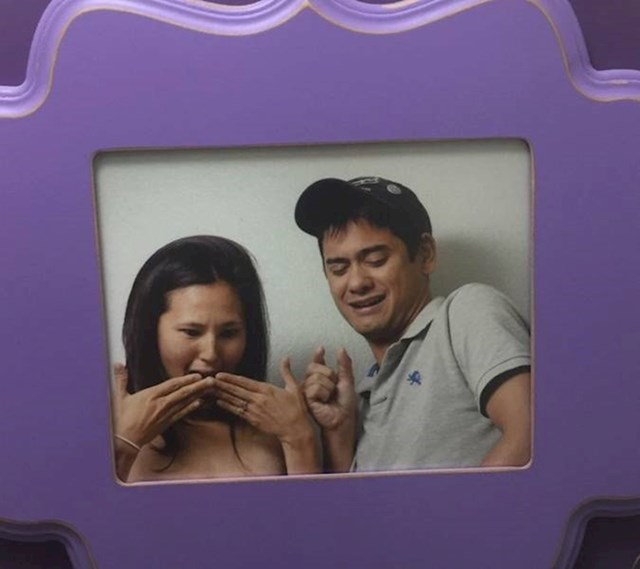 4. Cura i dečko koji ovu fotku drže godinama iznad WC-a