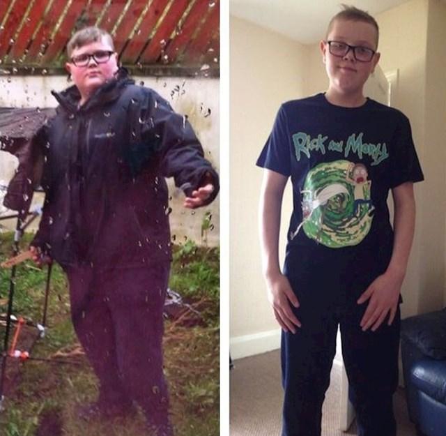 """7. """"U samo 57 tjedana moj je sin izgubio pola svoje težine!"""""""