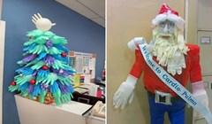 22 fotke genijalnih božićnih dekoracija u bolnicama