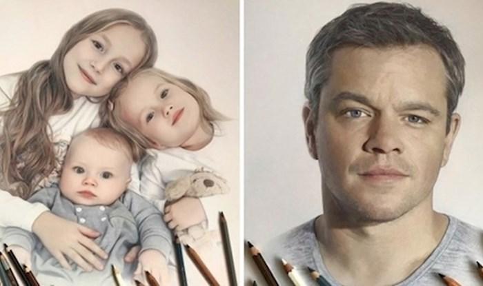 Ova umjetnica stvara zadivljujuće hiperrealistične crteže koristeći samo bojice