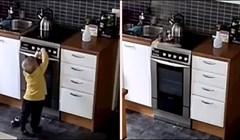 Evo zašto treba biti oprezan kad su djeca u kuhinji bez nadzora