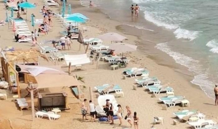 Prekrasna plaža na Lopudu nekom je poslužila kao parking; nećete vjerovati što je odlučio napraviti!