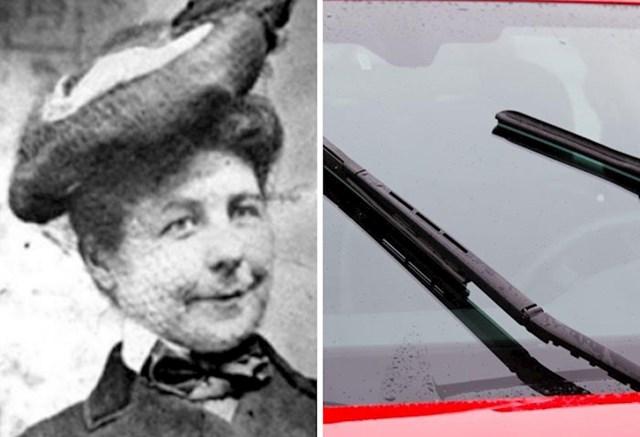 5. Mary Anderson izumila je brisač vjetrobrana kojim se upravlja iz vozila.