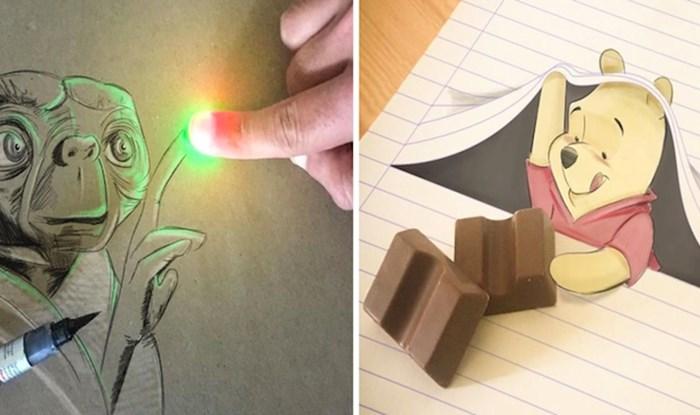 20 razigranih 3D ilustracija koje izgledaju kao da skaču s papira