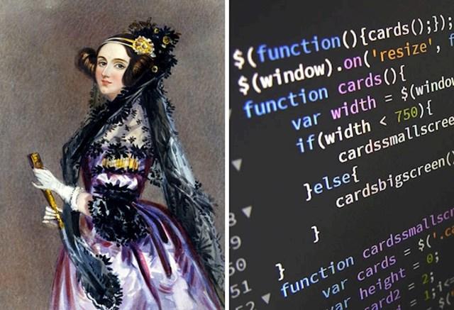3. Ada Lovelace osmislila je prvi računalni algoritam.