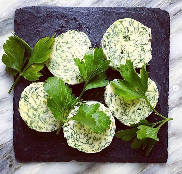 #10 Od svog bilja napravite biljni maslac.