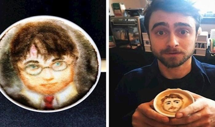 Ovaj barista radi nevjerojatne portrete slavnih osoba na pjeni od kave