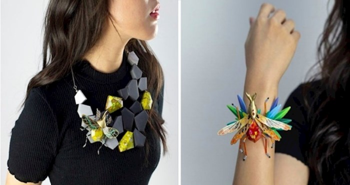 Fascinantna serija nakita nastala gotovo cijela od papira