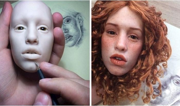 Ovaj kipar izrađuje lutke koje su toliko realne da gotovo možemo osjetiti njihove otkucaje srca