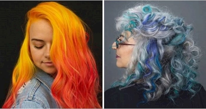 +20 žena odvažilo se na totalno lude boje kose; sigurni smo da pristaju njihovim osobnostima