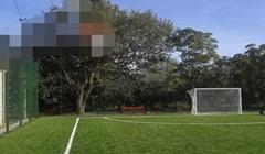 Na ovom nogometnom terenu planirano je da se igra i još jedan sport