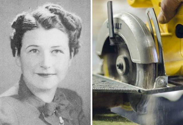 6. Tabitha Babbitt izumila je kružnu pilu.