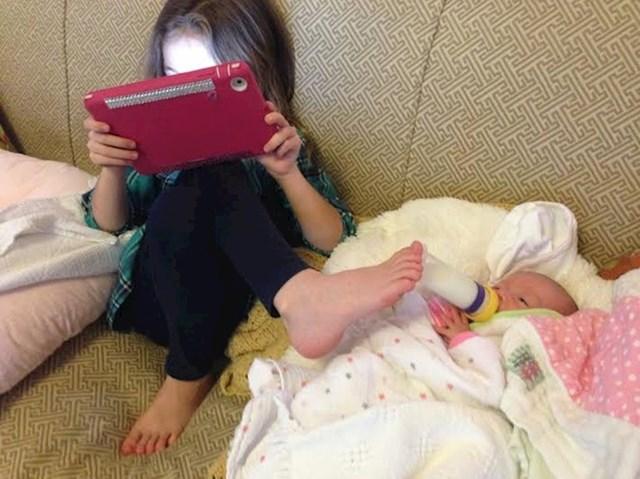 """""""Moja šesto godišnja kćer sjajna je u obavljanju više zadataka odjednom."""""""