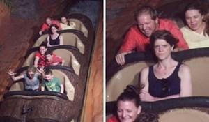 Komične fotke iz zabavnih parkova, njihove izraze lica morate vidjeti