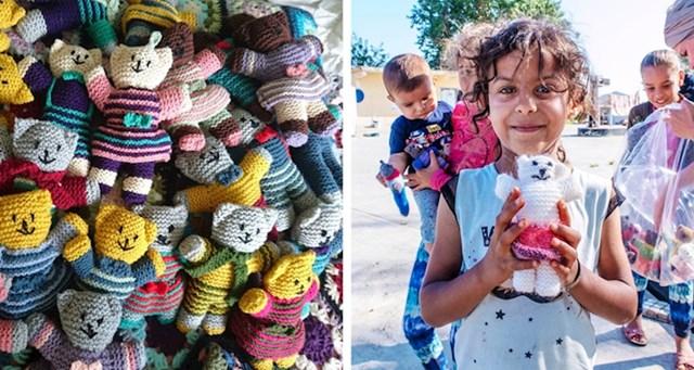 """3. """"Moja baka plete lutke za djecu u zemljama u razvoju."""""""