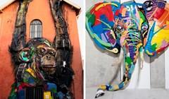Umjetnik pretvara otpad u skulpture životinja kako bi nas podsjetio na onečišćenje okoliša