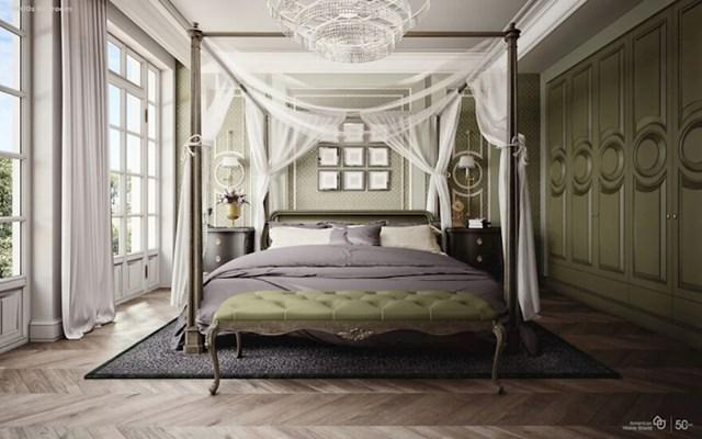 Spavaća soba 1800-ih godina