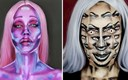 Ova umjetnica stvara jezive maske, za neke joj treba i do 10 sati šminkanja