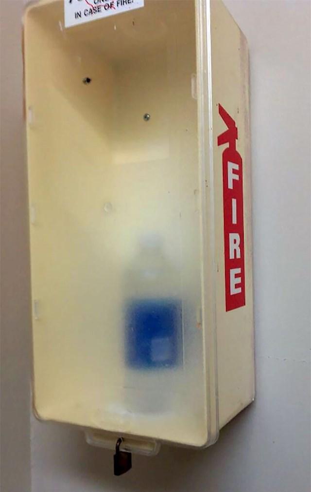 """""""Moj stanodavac se ozbiljno pozabavio požarnom sigurnošću."""""""