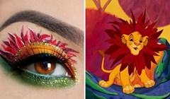 16 zadivljujućih make-upa, inspiriranih Disneyevim animiranim likovima